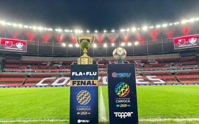 Flamengo levou o troféu para casa