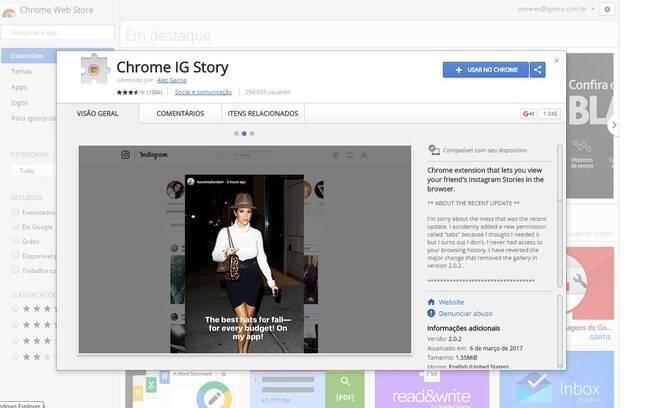 Instagram Stories no computador? Veja como fazer para ver as publicações