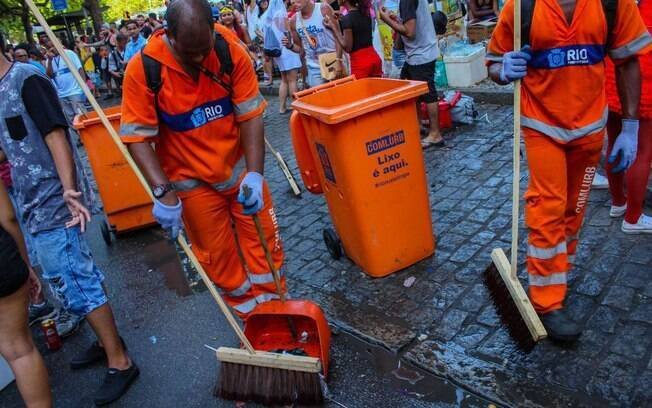 Comlurb anunciou que vai manter limpeza da cidade mesmo com a greve dos garis