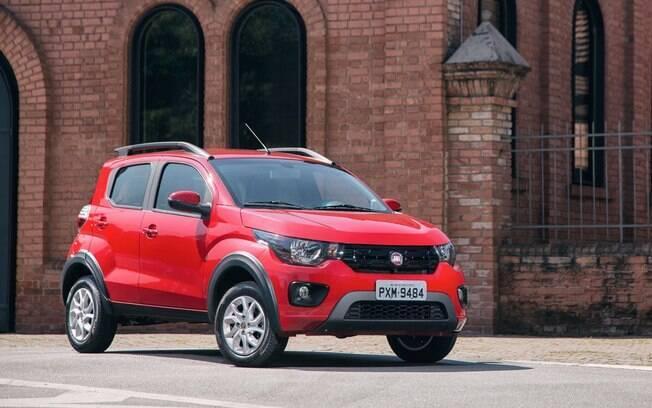 Fiat Mobi é pequeno e versátil; perfeito para a cidade grande