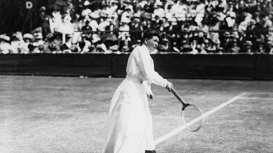 Charlotte Cooper em 1900