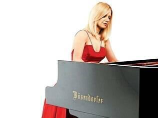 Programa. Aclamada em todo mundo, a pianista apresentará obras de Liszt, Chopin e Beethoven
