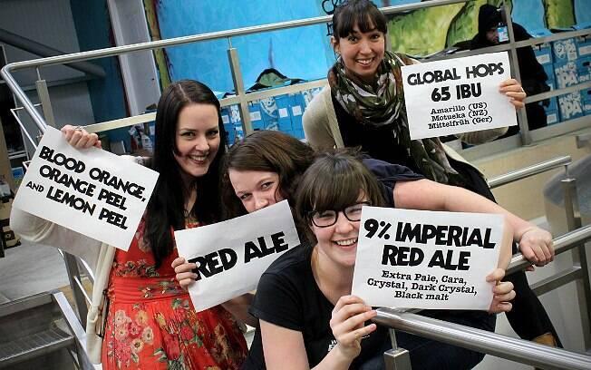 Características da nova cerveja foi definida por votações no site oficial e nas redes sociais