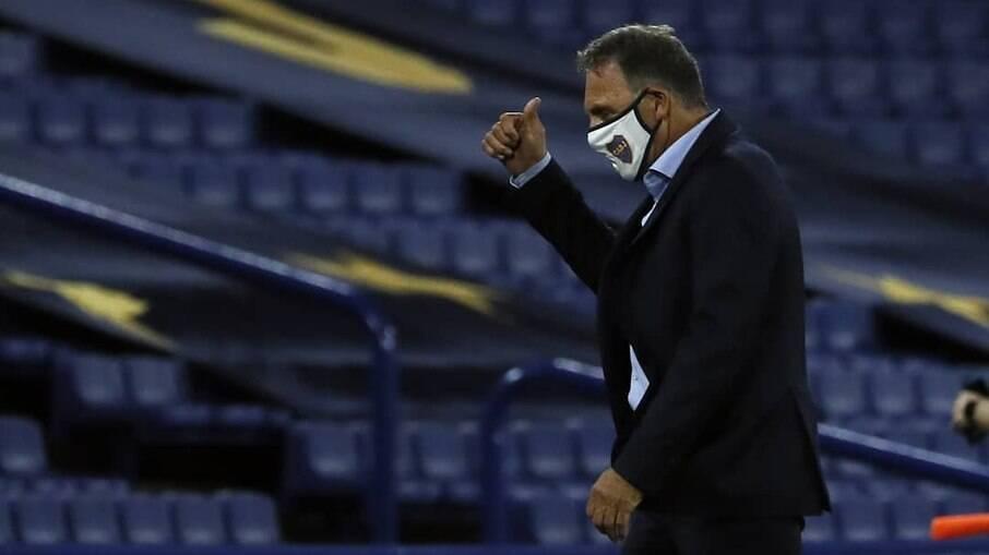 Miguel Ángel Russo admitiu culpa após eliminação do Boca