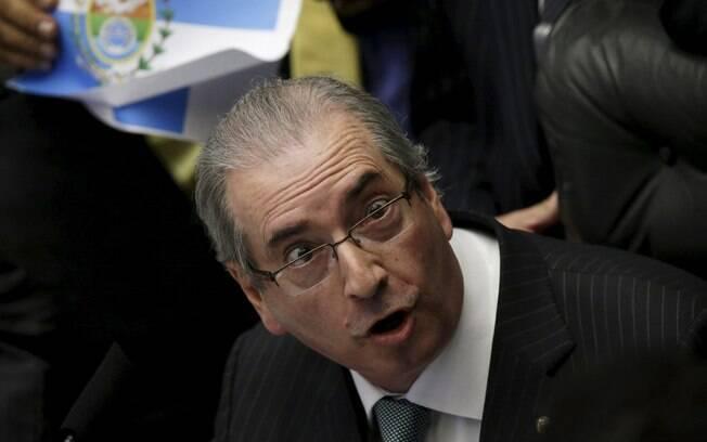 Eduardo Cunha, presidente da Câmara dos Deputados, na votação deste domingo (17). Foto: Ueslei Marcelino/Reuters 17.04.16