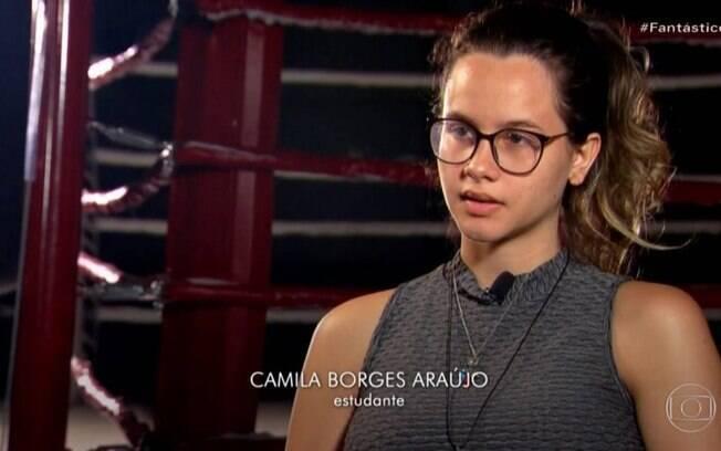 Camila Borges Araújo%2C uma das mulheres que acusa o treinador