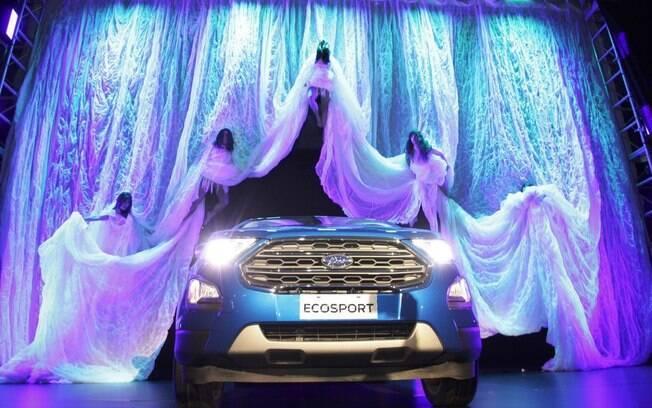 Ford EcoSport 2018 foi apresentado em um evento com shows de dança em Buenos Aires, na Argentina
