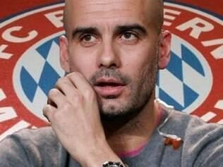 Guardiola vive um bom momento no comando do Bayern de Munique