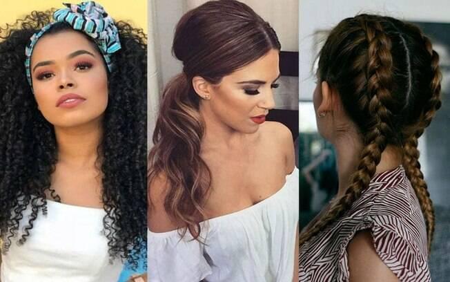 Escolha o melhor tipo de penteado para fazer no Réveillon