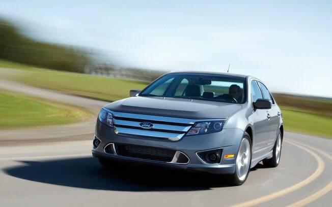 Ford Fusion V6 Flex: nos EUA, o sedã tinha versão que funcionava com E85,  mistura de 85% de etanol e o restante de gasolina