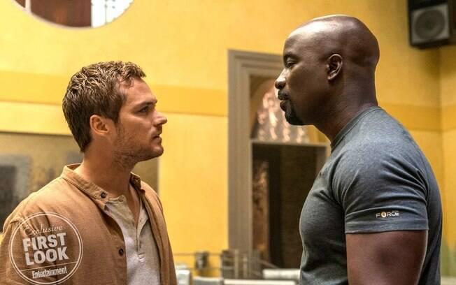 Danny Rand e Luke Cage na segunda temporada da série