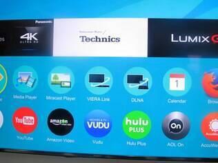 Com uma interface simples e elegante, Firefox OS, sistema originalmente desenvolvido para smartphones, estará nas TVs Panasonic de 2015