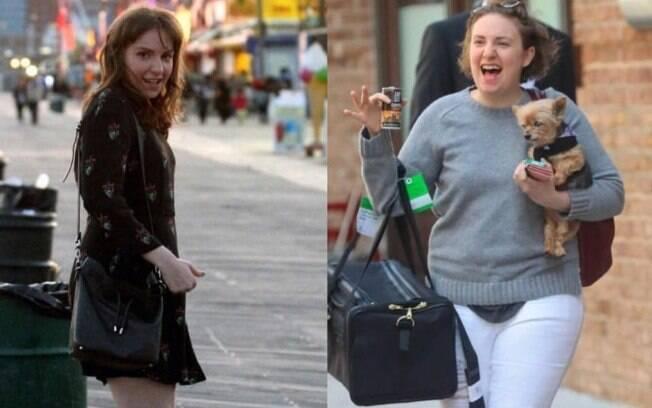 9au2drvqtvc2752knq34vnl2s Com 11kg a mais, Lena Dunham, atriz de Girls, fala sobre sua novidade período