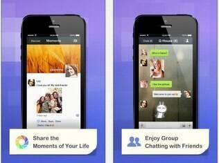 WeChat tem recursos similares aos do WhatsApp