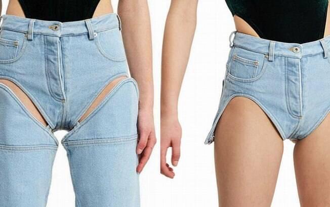 As calças jeans que se transformam em shorts podem ser uma boa saída para quem mora em cidade sem clima definido