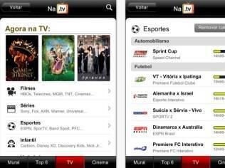 NaTV permite acompanhar a programação da TV aberta e fechada no iPhone e Android
