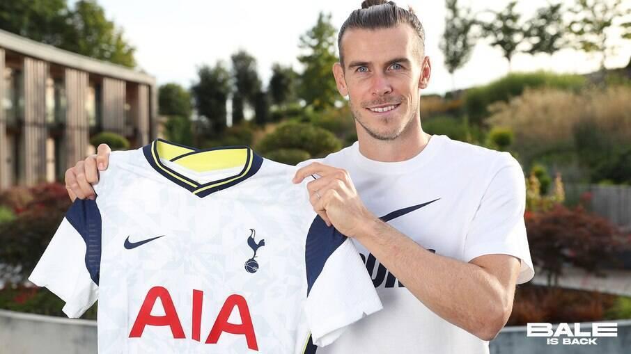Gareth Bale foi emprestado pelo Real Madrid ao Tottenham no começo da temporada