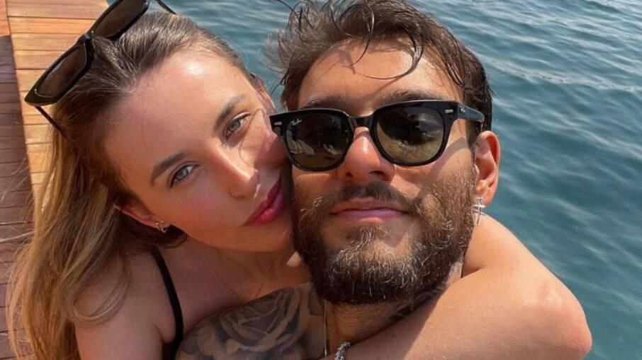 Lucas Lucco completa um ano de casado e celebra: 'Grato demais'
