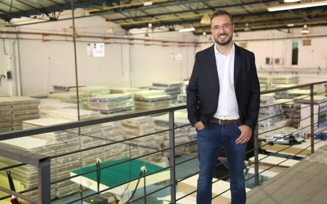 O empresário Ricardo Eloi, CEO da Sono Quality, começou a trabalhar cedo, ainda na infância, aos nove anos de idade
