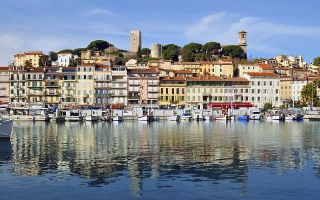 Cannes, na França, é uma das paradas feitas pelo MSC Seaview durante o cruzeiro feito no Mediterrâneo por sete noites