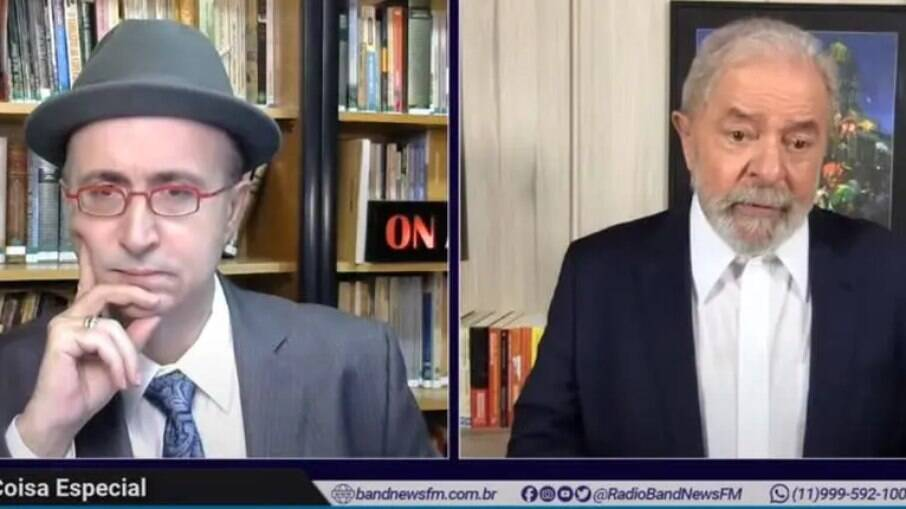 Lula concedeu entrevista ao jornalista Reinaldo Azevedo