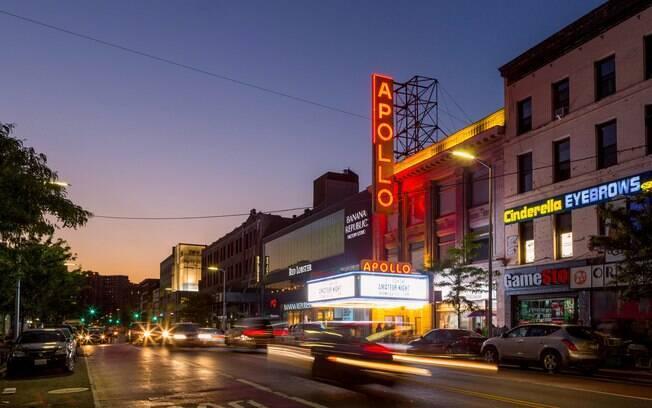 Fachada do Apollo Theater