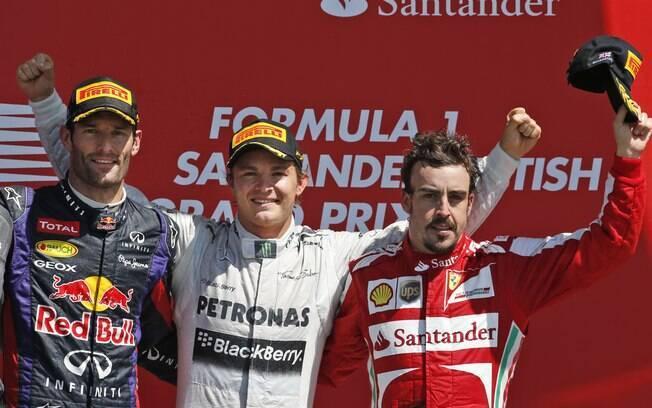 Nico Rosberg venceu o GP da Inglaterra de F1