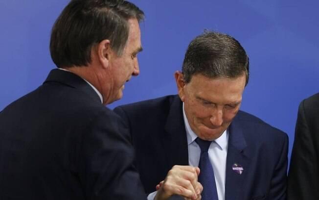 Crivella busca o apoio de Bolsonaro para se reeleger no Rio de Janeiro