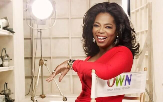 Oprah é uma das personalidades mais influentes da televisão mundial