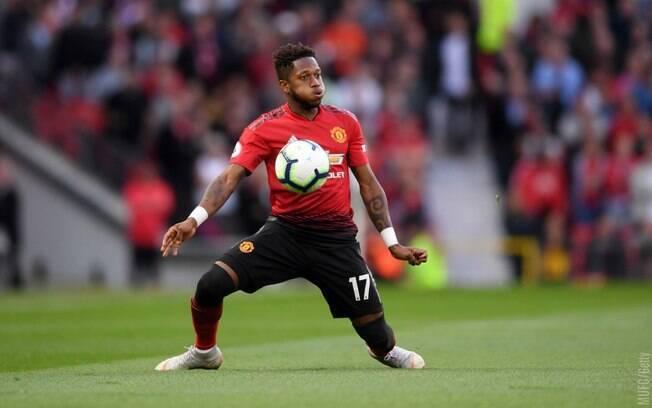 Fred foi muito bem em sua estreia oficial pelo Manchester United