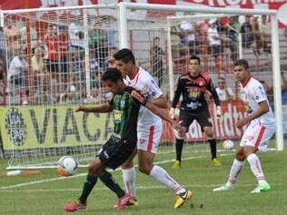 ESPORTES - Fotos de Guarani x America , no Estadio Fariao , em Divinopolis FOTO : Assessoria AFC/Carlos Cruz  05.03.2014