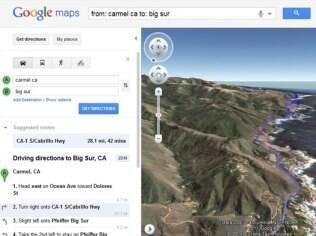 Novo recurso do Google Maps, lançado na última sexta-feira (30/09)