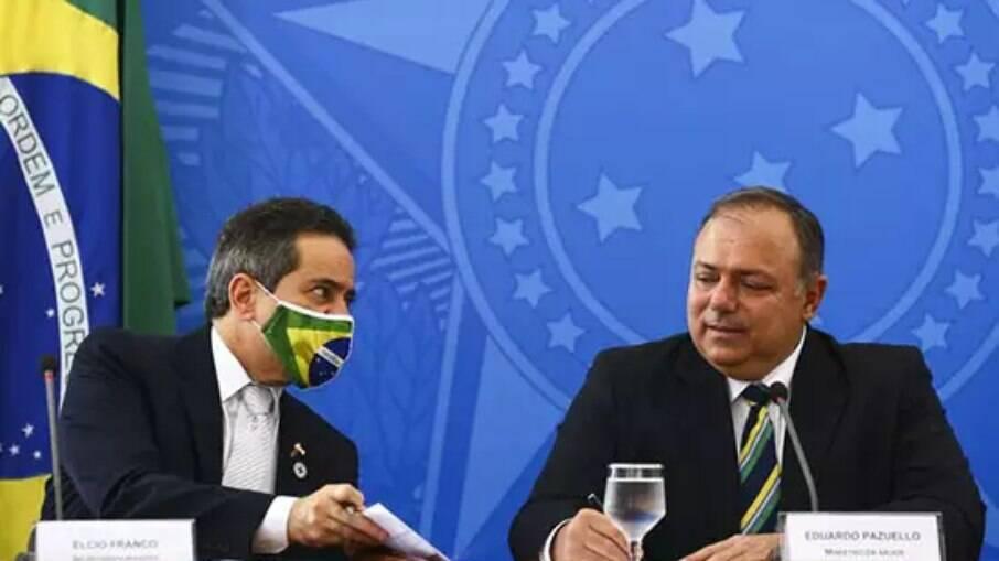 Elcio Franco está na mira dos senadores que integram a comissão de inquérito