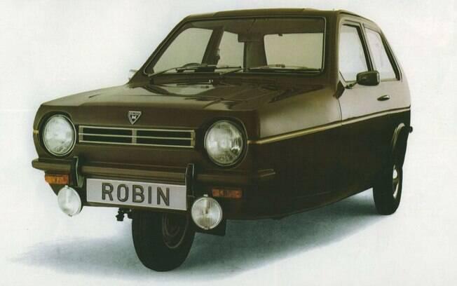 Reliant Robin: com apenas três rodas, dirigir esse carro sem capotar nas curvas era um grande desafio