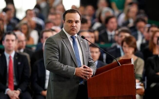 O ministro da Secretaria Geral, Jorge Oliveira
