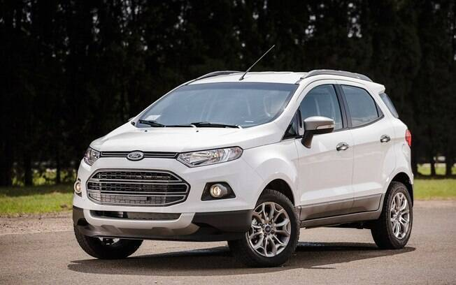 Prestes a mudar, o Ford EcoSport é o quarto no ranking, desde que esteja com o motor 1.6 Sigma TiVCT e o câmbio PowerShift.
