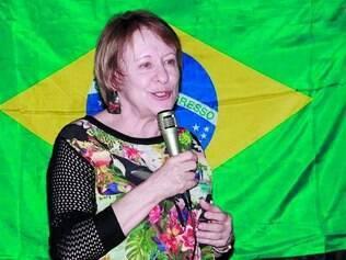 Disposição. Luzia Ferreira admite que já foi consultada pelo partido sobre a possibilidade de se candidatar e respondeu positivamente