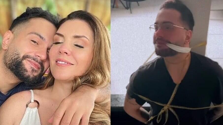 Simony amarra marido após ele perder aliança