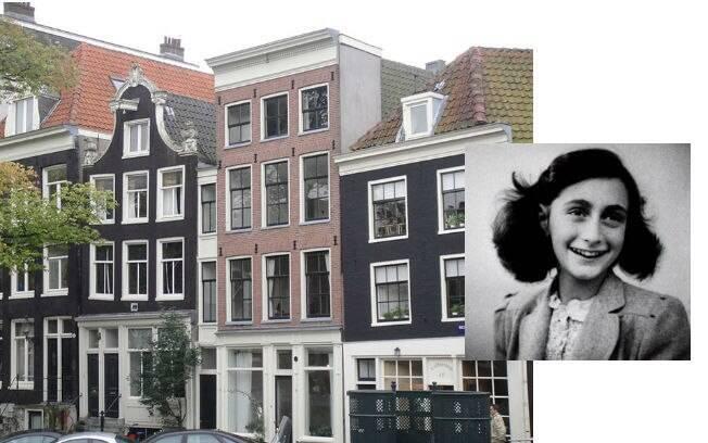 Anne Frank era uma menina judia que passou pelos horrores da Segunda Guerra Mundial