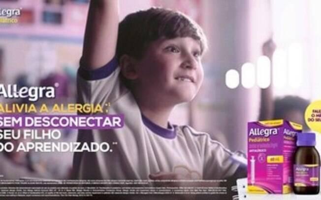 Allegra® lança campanha para linha pediátrica
