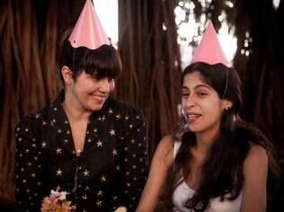 Renata organizou uma festa de aniversário relâmpago para uma xará