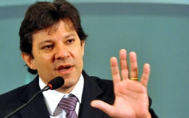 O prefeito de São Paulo, Fernando Haddad: a princípio, uma vitória importante para sua gestão