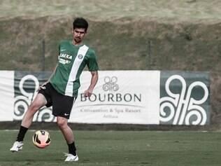 Leandro Almeida chegou ao Coritiba em 2013 e tem contrato até 2016