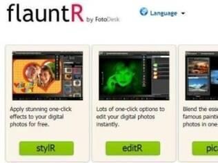 Flauntr aposta na rapidez para edição de fotos