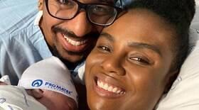 Nasce primeiro filho de Fabiana Claudino