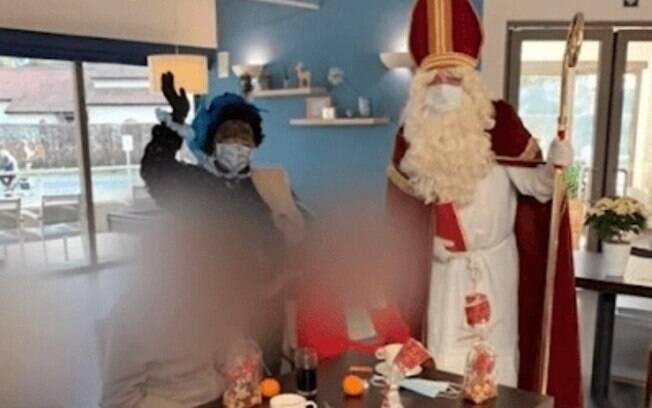 Papai Noel infectou idosos