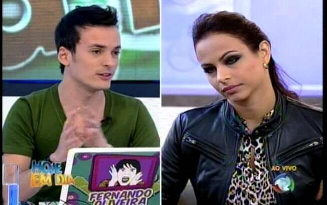 O colunista do iG questiona a amizade entre Taciane e Joana