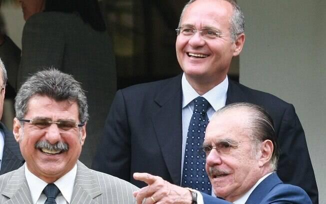 Romero Jucá e José Sarney, ambos do PMDB, foram citados em delação premiada do ex-senador Sergio Machado