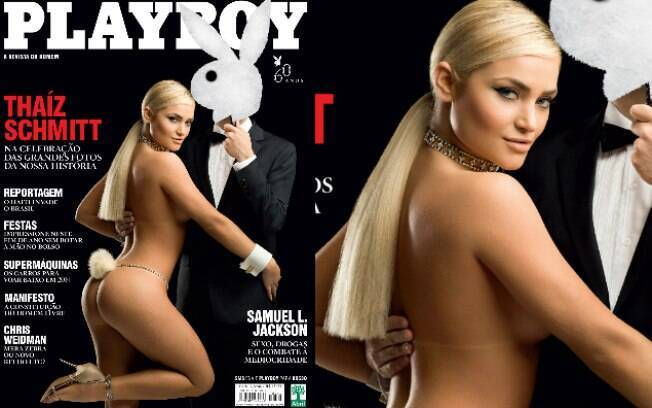 Em dezembro, a Playboy trouxe um ensaio da coelhinha Thaíz Schmitt, inspirado nas fotos de Xuxa para a revista de 1982