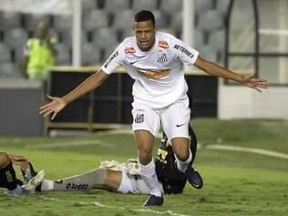 O Caveirinha santista começou a se destacar na partida contra o Cruzeiro, derrota por 1 a 0